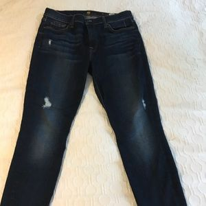 7 For All Mankind  size 31- ankle skinny jeans